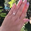 1.02ct Transitional Cut Diamond, GIA H VS1 13
