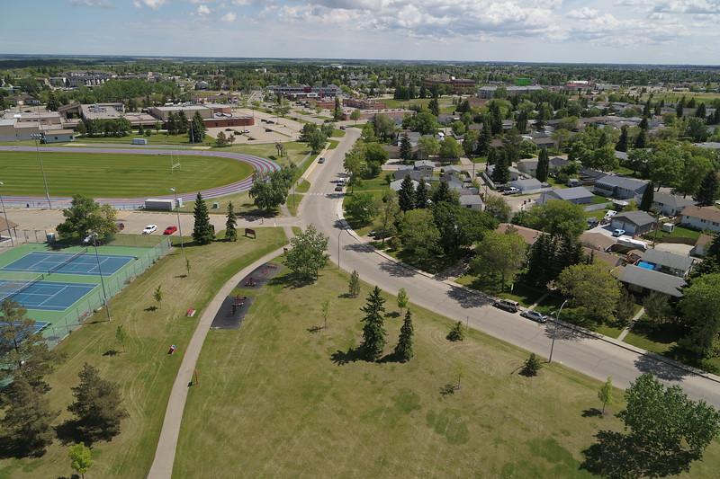 Corinthia Drive Aerial Photo