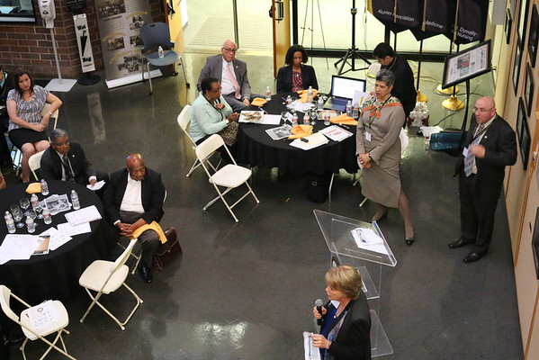 Faculty Dinner Meeting called by Dean Deborah Prothrow-Stith