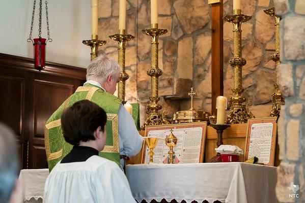 Mass at St. Benedict Parish with Bishop Olson