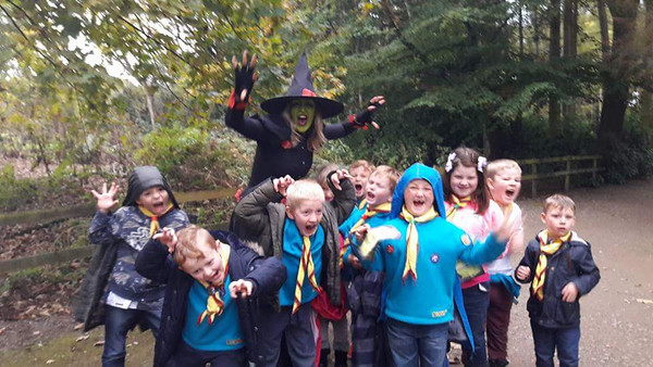 BEAVERS: Halloween time at Stockeld Park, Wetherby