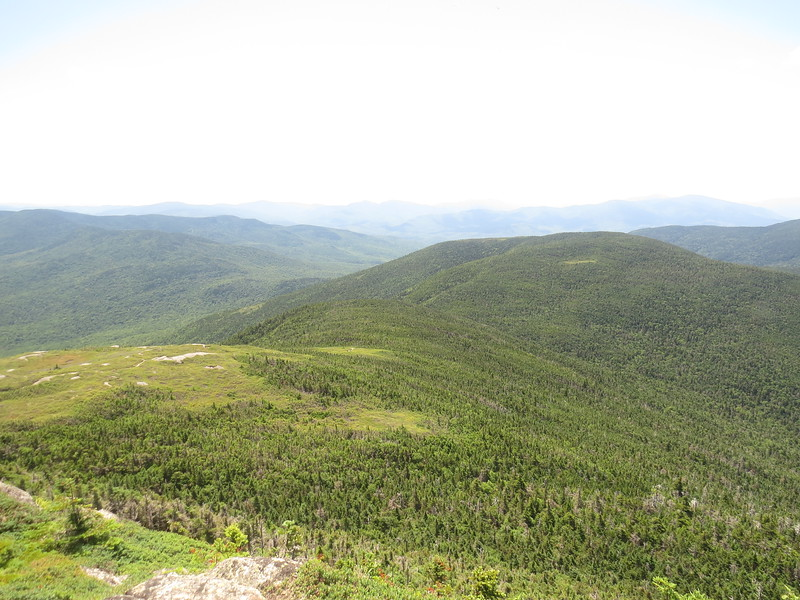 Appalachian Trail and Mt. Carlo from North Goose Eye.JPG