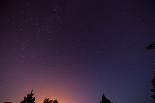 Persuid Meteor Shower 2016