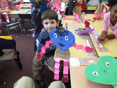 Valentine Party in Evan's K