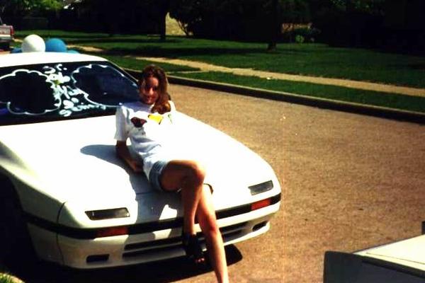 Tori  car for graduation 1996-fd0000