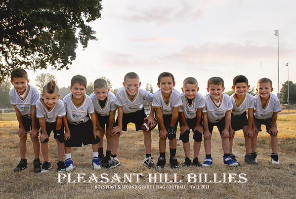 PH Boys 1/2 Grade Flag Football