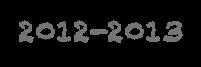 2012-2013