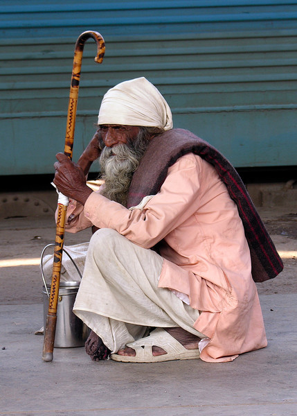 DOWN AND OUT IN AMRITSAR - INDIA