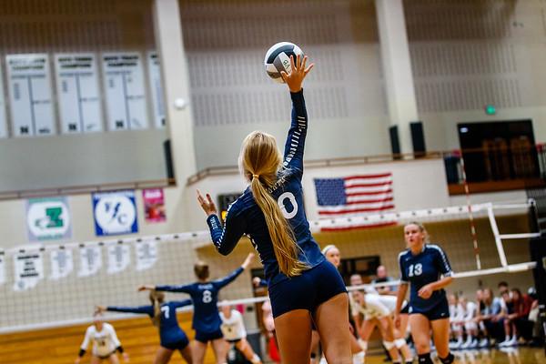 CC Varsity Volleyball vs Noblesville 2018-8-28