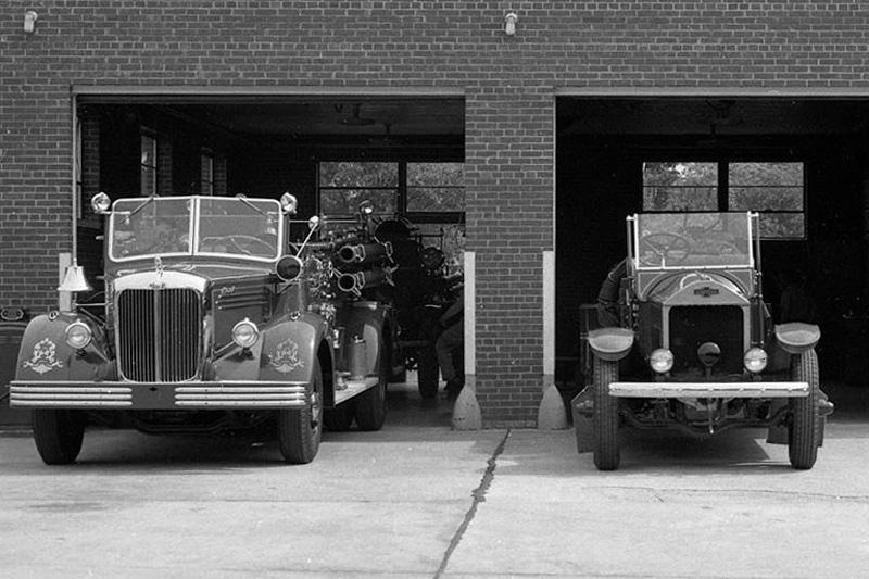 Station 6 circa 1950. North Carolina State Archives photo.