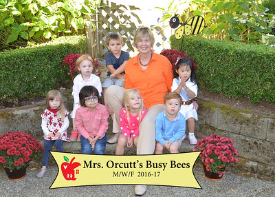 2016 Mrs Orcutt's Busy Bees Lisa Walker's Preschool