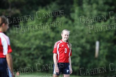 North Davie Girls Soccer vs Forbush 9-11-14
