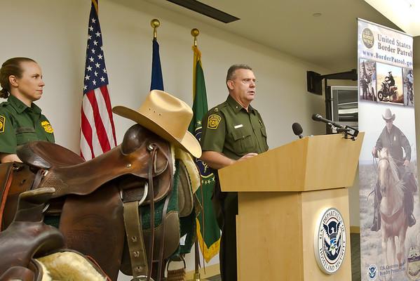 September 16, 2011 Border Patrol Horse Unit dy