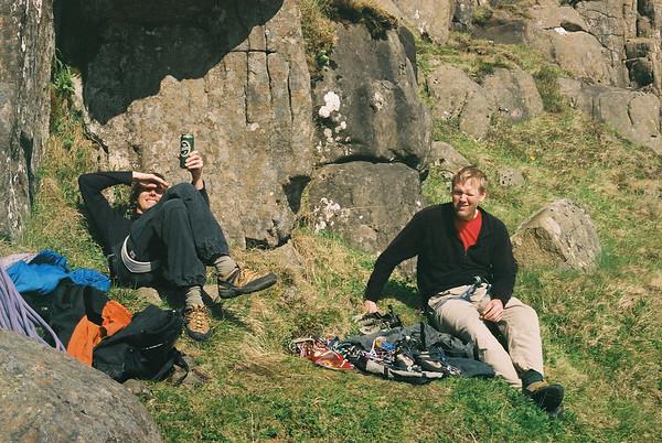 Climbing, summer 2010