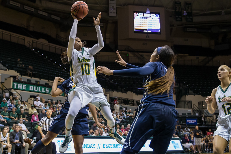 USF Women's Baskettball vs Penn State Lady Lions