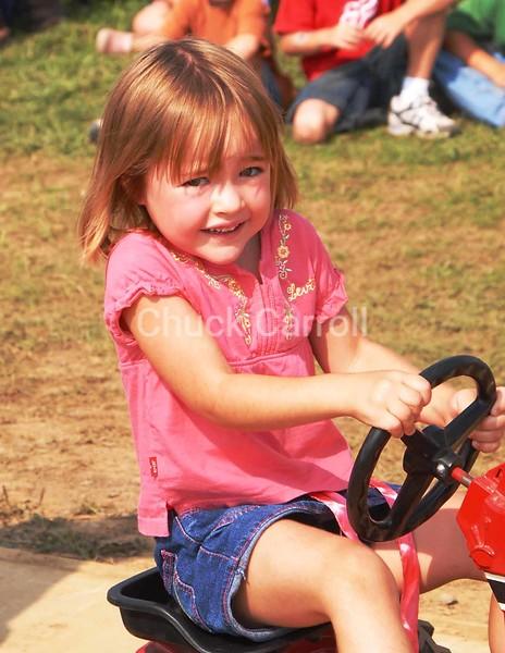 Grange Fair 2007  --  Kids Tractor Pull