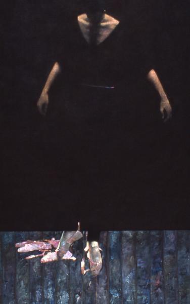 Dancer in Black on Black     (SOLD OUT)