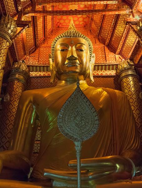 Big Buddha of Ayutthaya.