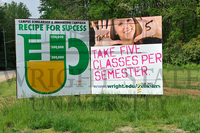 8257 Take 5 Sinage Around Campus 5-2-12
