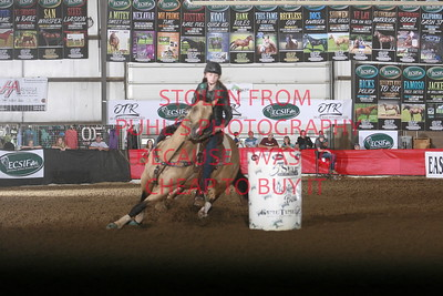 sat OTR Futurity 2nd go 2nd barrel