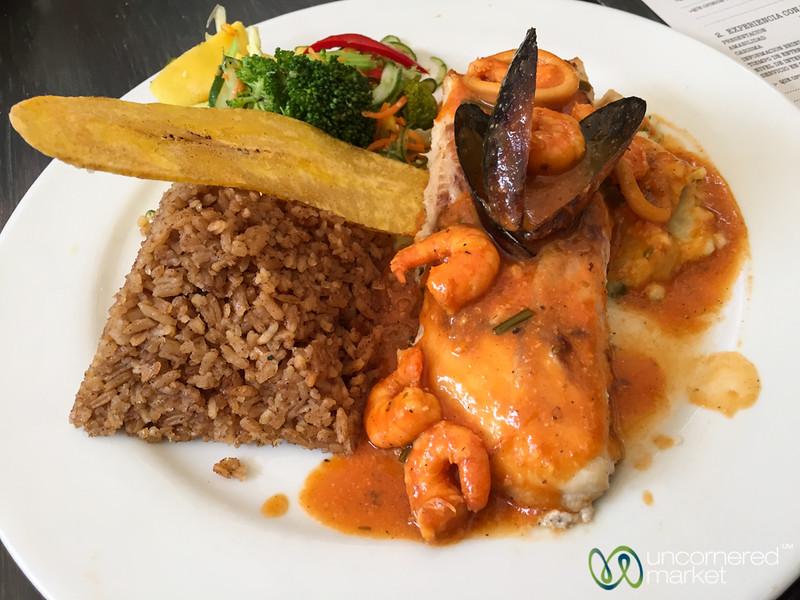 Delicious Lunch at La Mulata - Cartagena, Colombia