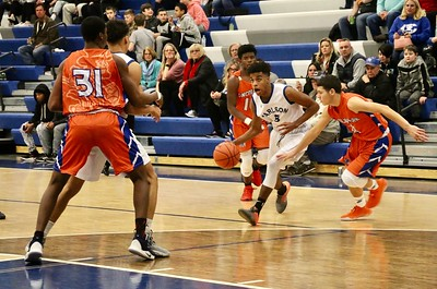 HS Sports - Lincoln Park vs. Carlson Boys Basketball 20