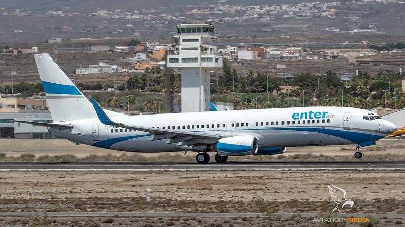 Enter Air / Boeing B737-8CX / SP-ENN