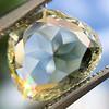 3.46ct Portrait Rose Cut Trapezoid Diamond GIA UV VVS2 3