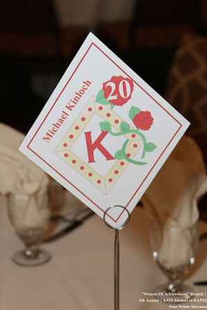 4th Annual Women of Achievement Brunch | Kappa Alpha Psi Fraternity-AAYI