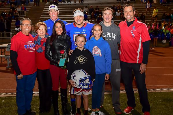 Celebration of Senior Night and the 2016 season - November 3 2016