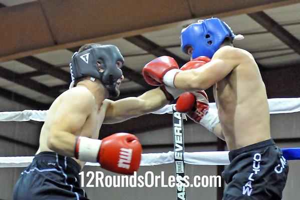 Amateur B1 = Kyle Quisenberry, Fairmont, WV -vs- Stephen Ware, Morgantown, WV