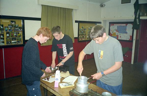 Scout Sweet Making 2002