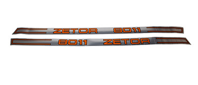 ZETOR 8011 SERIES DECAL SET