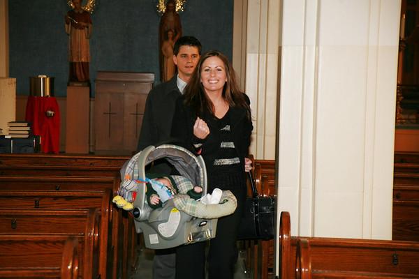 Brayden's Baptism 2007