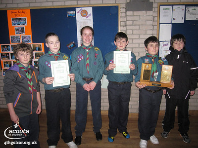 January - District Table Tennis Competition