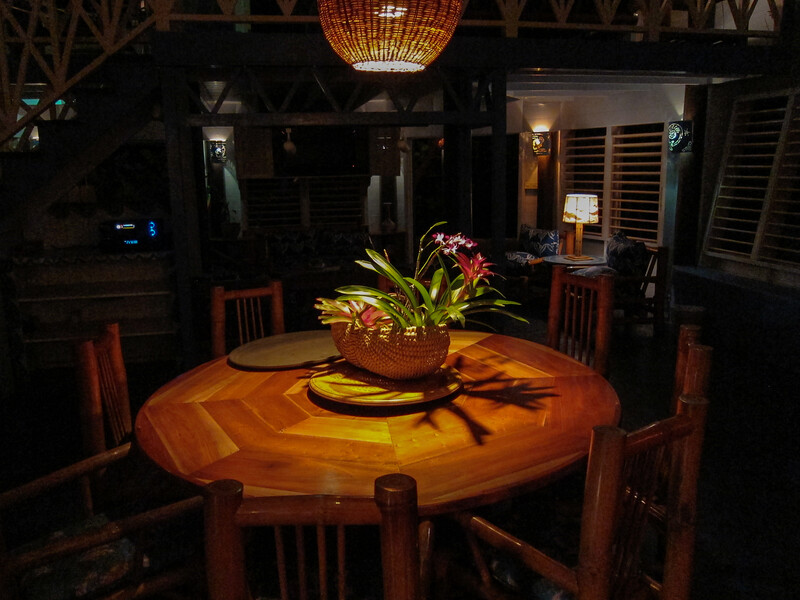 Large Round Table at the Evening Lounge