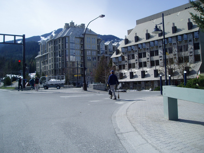 Whistler Ski Resort (2,214ft = 675m) Future host of 2010. Winter Olympic Games