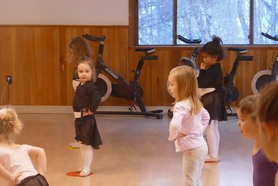 Jocelyn Ballet class
