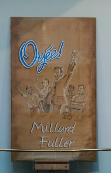 """Oyee, Millad Fuller"" canvas painted by Jo Knox of Koinonia Farm. sh"