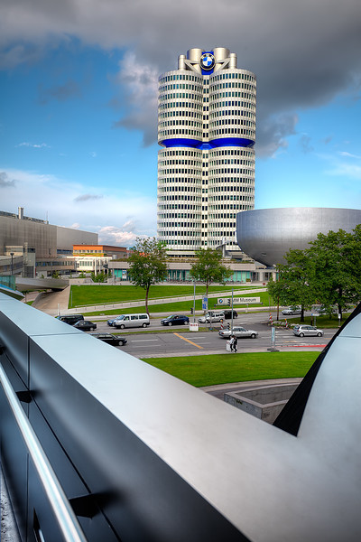 BMW World Headquarters from BMW Welt
