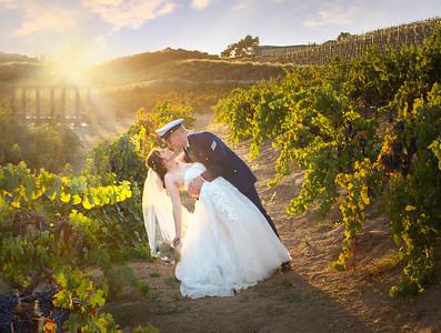 Europa Village Winery and Vineyard Wedding of Rachel & Domenic