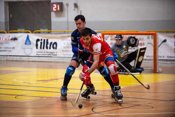 Correggio Hockey vs GSH Trissino