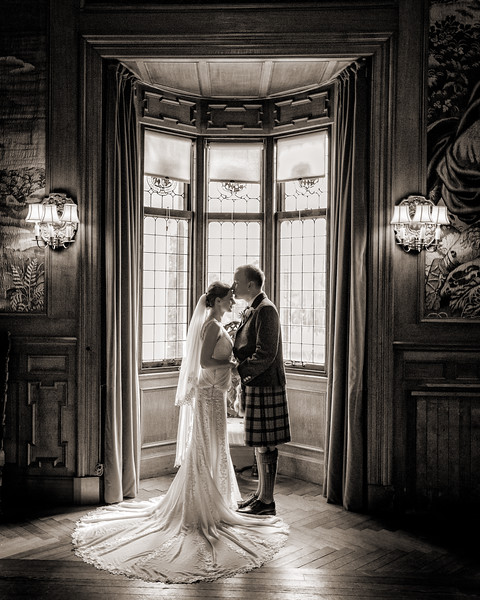 Fyvie Castle Wedding