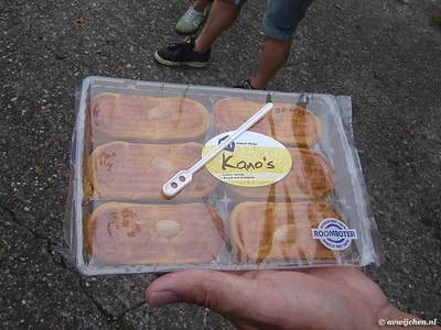 Kano & BBQ loopgroepen 10 Jun 2007