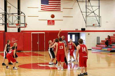 Middle School Boys Basketball 7B - 2008-2009 - 1/14/2009 Newaygo