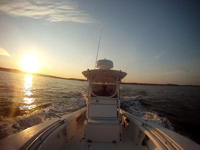 Cape Cod Striper fishing