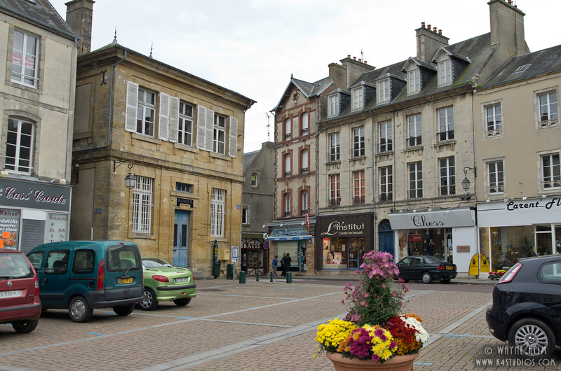 Street in Normandy  4      Photography by Wayne Heim