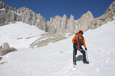 Mt. Whitney via The Mountaineers Route, May 2011