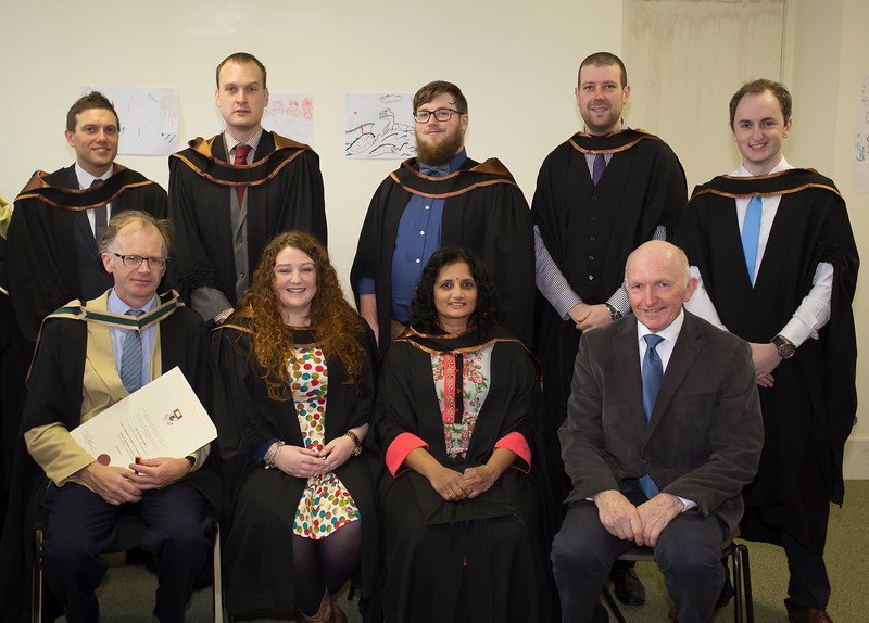 28/10/2015 Image Free to Use. Conferring at Waterford Institute of Technology. Master of Arts in Teaching & Learning in Further & Higher Education.Photo; Mary Browne