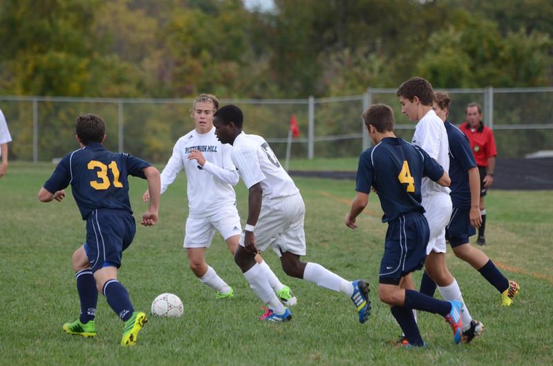 Boys Varsity Soccer October 8 vs Perryville